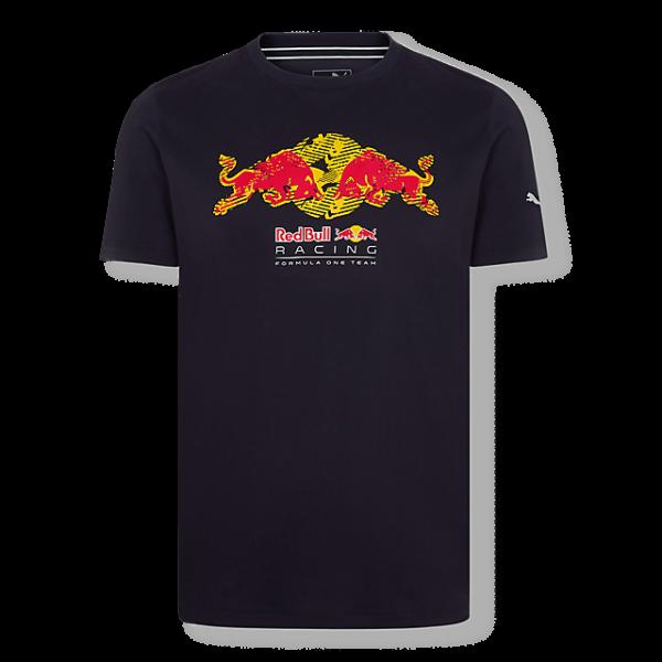 RED BULL T-Shirt Męski Racing Tread Navy