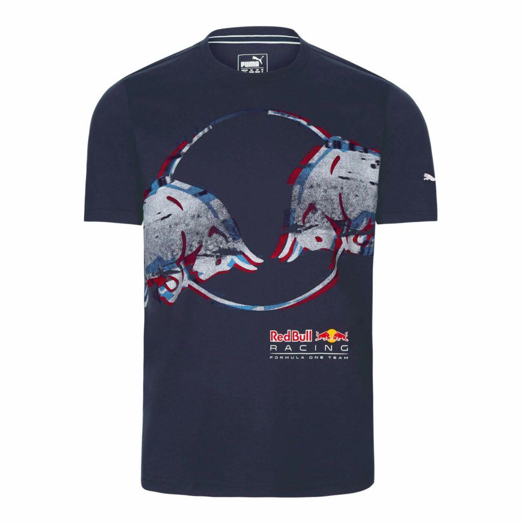 RED BULL Racing Tilt T-shirt Koszulka Granatowa