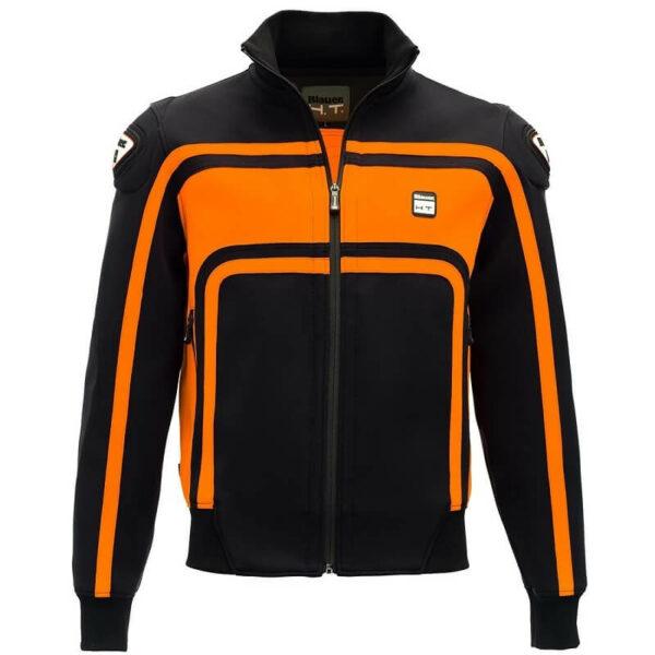 BLAUER Kurtka Tekstylna Easy Rider Czarno/Pomarańczowa