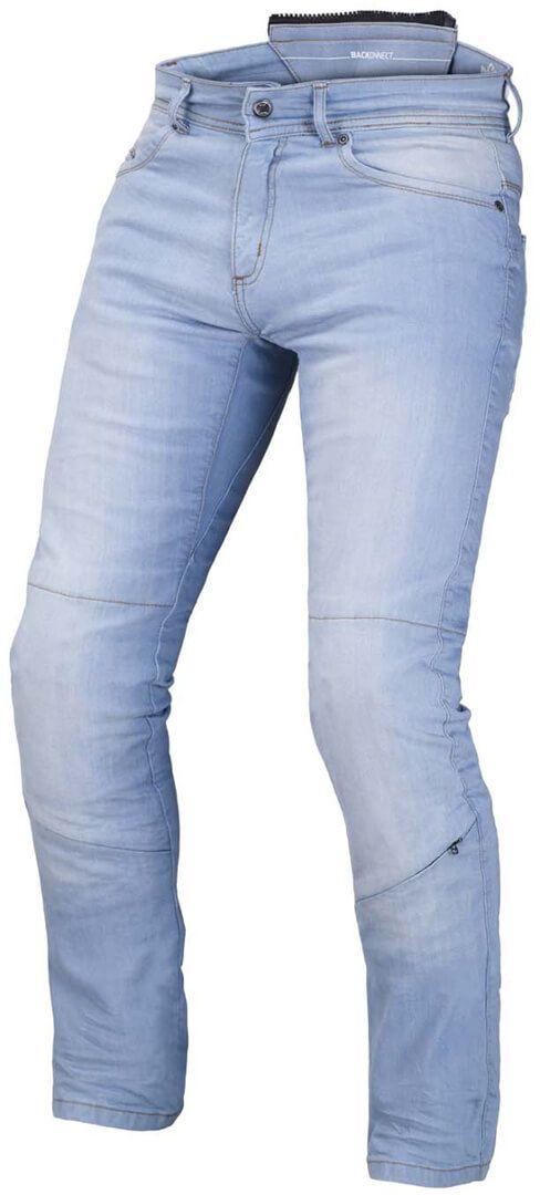 MACNA Spodnie Jeansowe Męskie Stone Light Blue