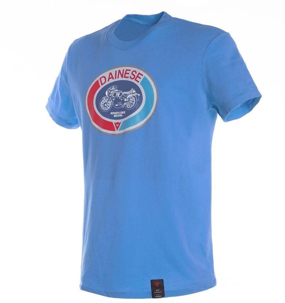 DAINESE T-Shirt Męski Moto 72 Blue
