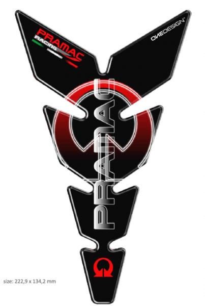PRINT Tankpad Moon Slim Logo Pramac