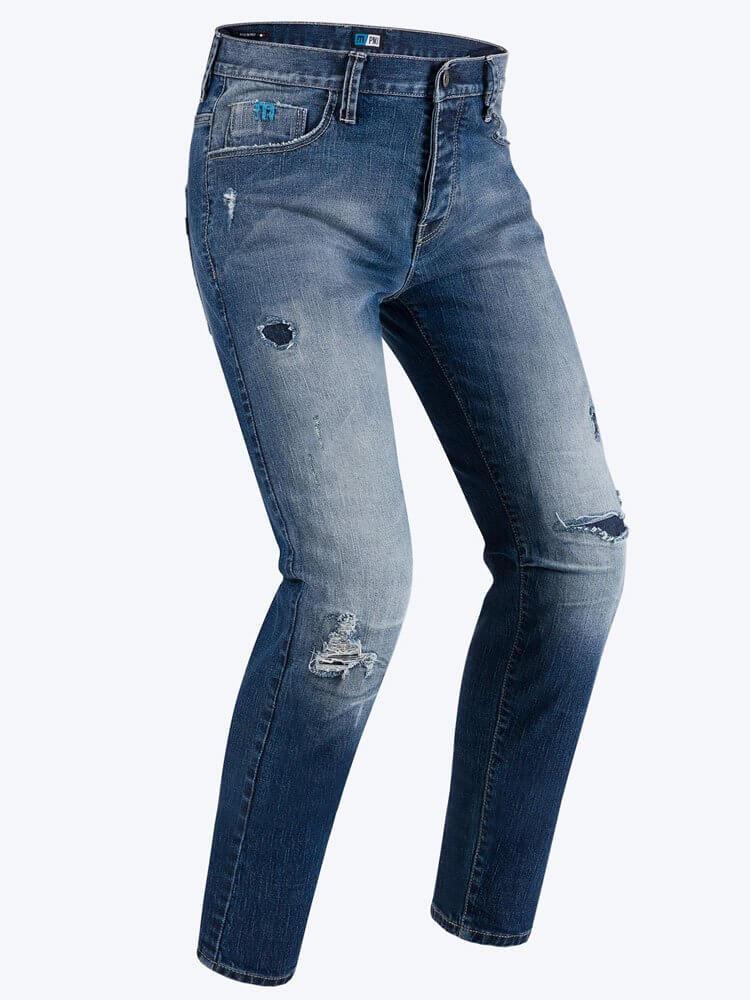 PMJ Spodnie Jeansowe Męskie Street Blue