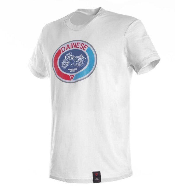 DAINESE T-Shirt Męski Moto 72 White