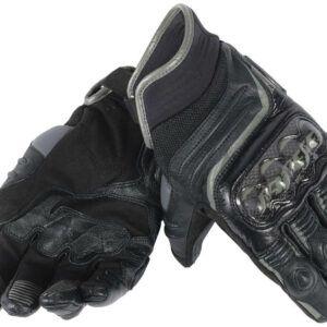 DAINESE Rękawice Skórzane Męskie Krótkie Carbon D1 Black