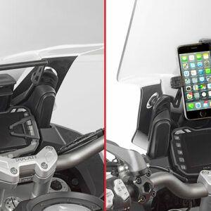 GIVI Poprzeczka Do Zamontowania GPS Ducati Multistrada/Enduro