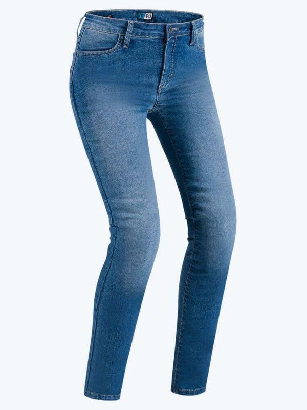 PMJ Spodnie Jeansowe Damskie Skinny Blue