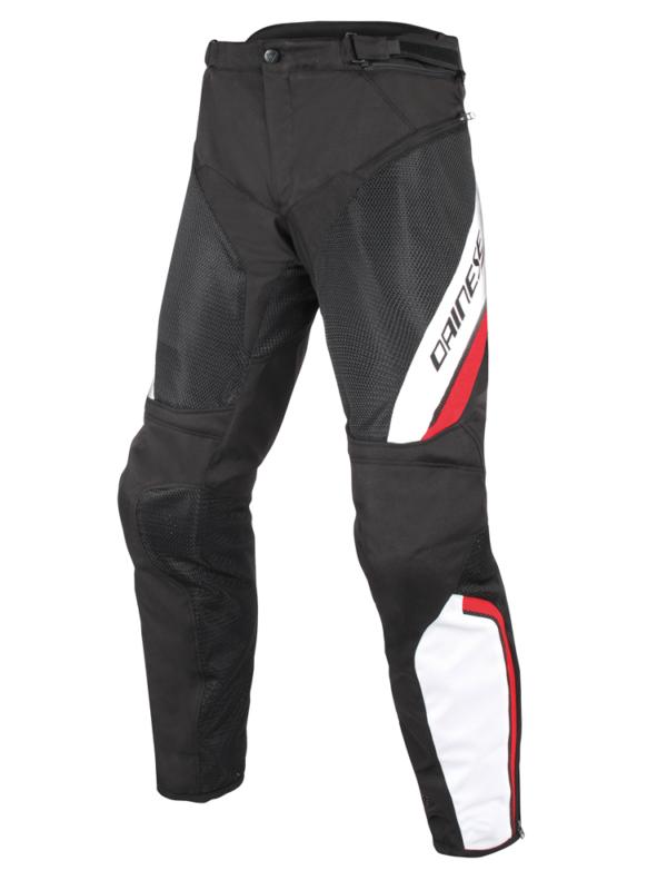 DAINESE Spodnie Tekstylne Męskie Drake Air D-Dry Black/White/Red