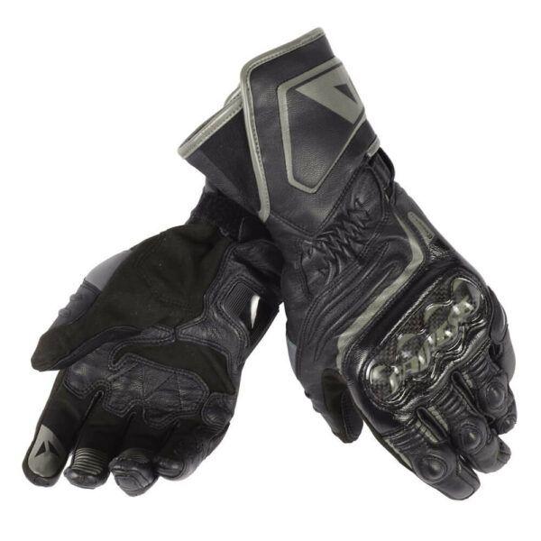 DAINESE Rękawice Skórzane Damskie Długie Carbon D1 Black