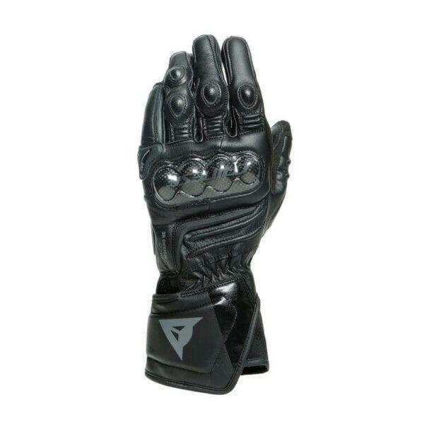 DAINESE Rękawice Skórzane Męskie Długie Carbon 3 Black