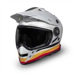 MOTO GUZZI Kask Enduro V85 TT Adventure White