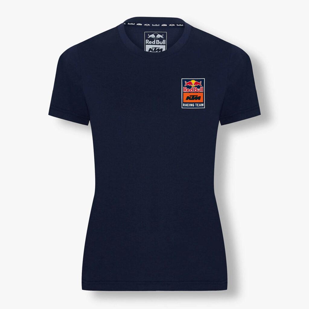 RED BULL T-Shirt Damski KTM Backprint Navy 2021
