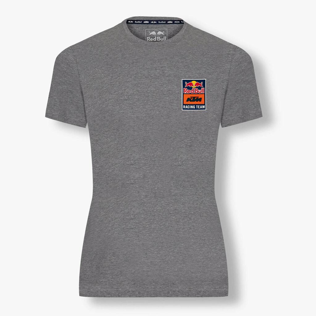 RED BULL T-Shirt Damski KTM Backprint Grey 2021