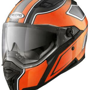 CABERG Kask Integralny Stunt Blade Black/Orange