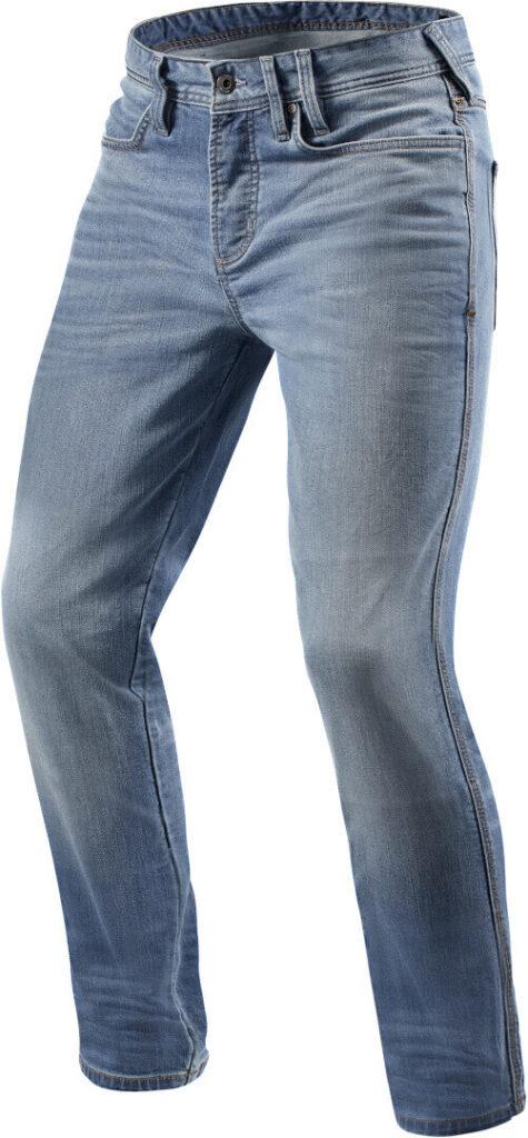 REVIT Spodnie Jeansowe Męskie Piston Light Blue