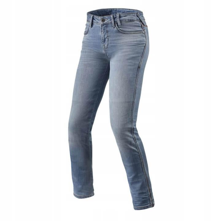 REVIT Spodnie Jeansowe Damskie Shelby Light Blue