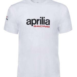 APRILIA T-Shirt Męski Basic White