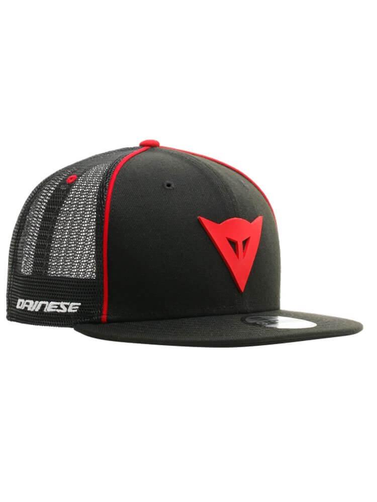DAINESE Czapka Z Daszkiem 9Fifty Trucker Snapback Black/Red