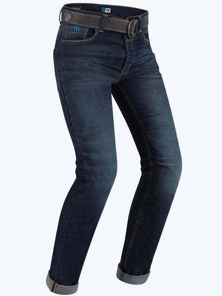PMJ Spodnie Jeansowe Męskie Caferacer Blue