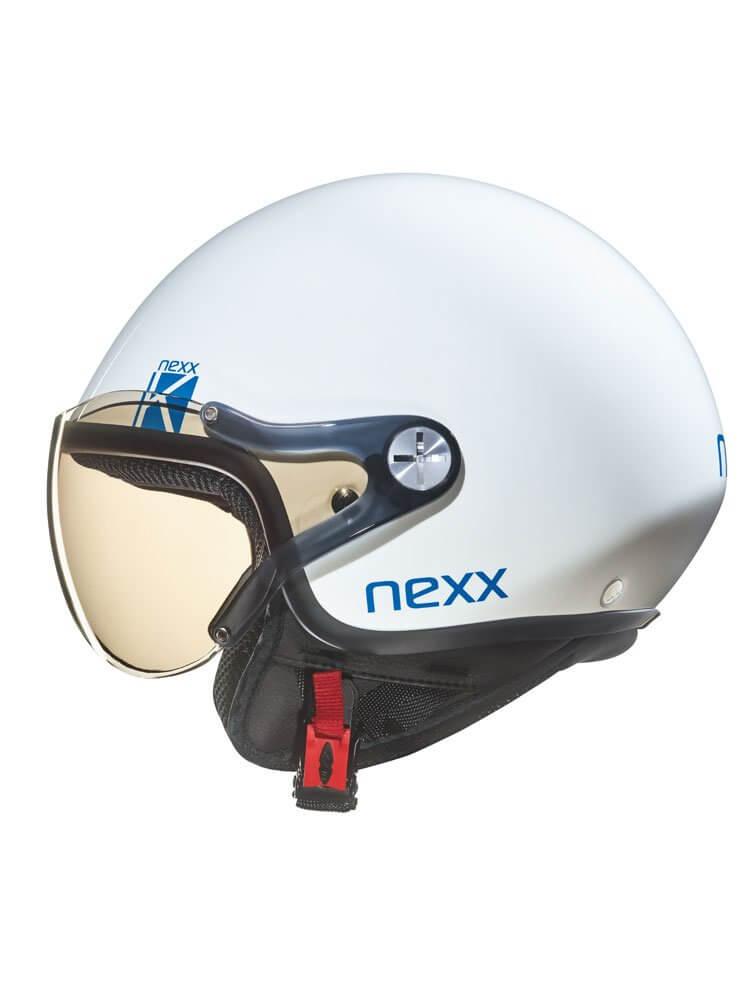 NEXX Kask Otwarty Dziecięcy SX 60 K White