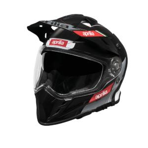 APRILIA Kask Integralny Multiroad Full Face Helmet Black
