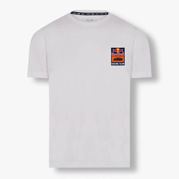 RED BULL T-Shirt Męski KTM Racing Team Backprint White 2021