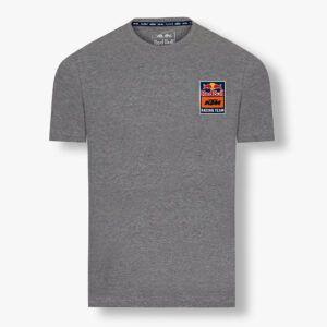 RED BULL T-Shirt Męski KTM Racing Team Backprint Grey 2021