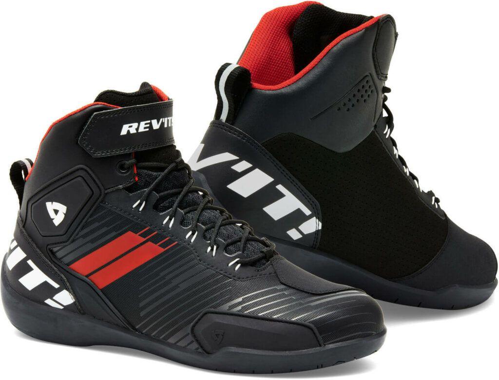 REVIT Buty Motocyklowe Męskie G-Force Black/Neon Red