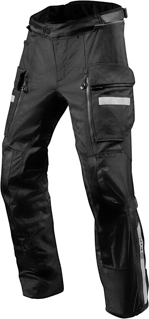 REVIT Spodnie Tekstylne Męskie Sand 4 H2O Black