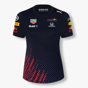 RED BULL T-Shirt Damski Racing Official Teamline 2021