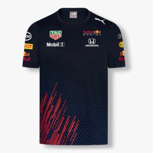 RED BULL T-Shirt Męski Racing Official Teamline 2021