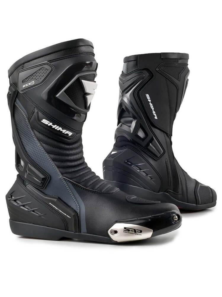 SHIMA Buty Motocyklowe Męskie RSX-6 Black