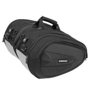 DAINESE Torba Motocyklowa D-Saddle Bag Black