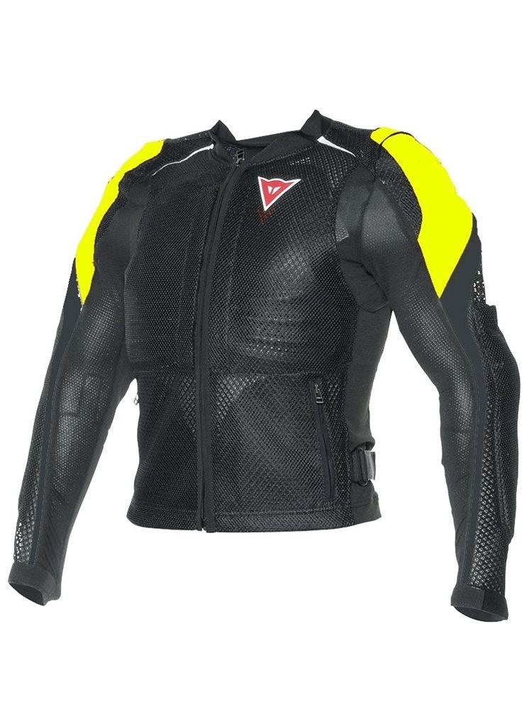 DAINESE Zbroja Motocyklowa Męska Sport Guard Black/Fluo Yellow