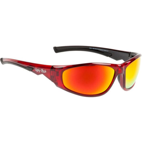 UGLY FISH Okulary Przeciwsłoneczne Torpedo Czerwone