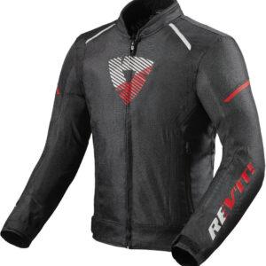 REVIT Kurtka Tekstylna Męska Sprint H2O Black/Neon Red