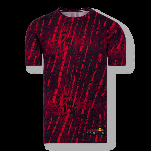 RED BULL T-Shirt Męski Scrawl Navy/Red 2021