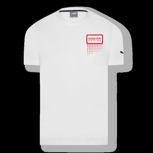 RED BULL T-Shirt Męski Double Bull 2021 White