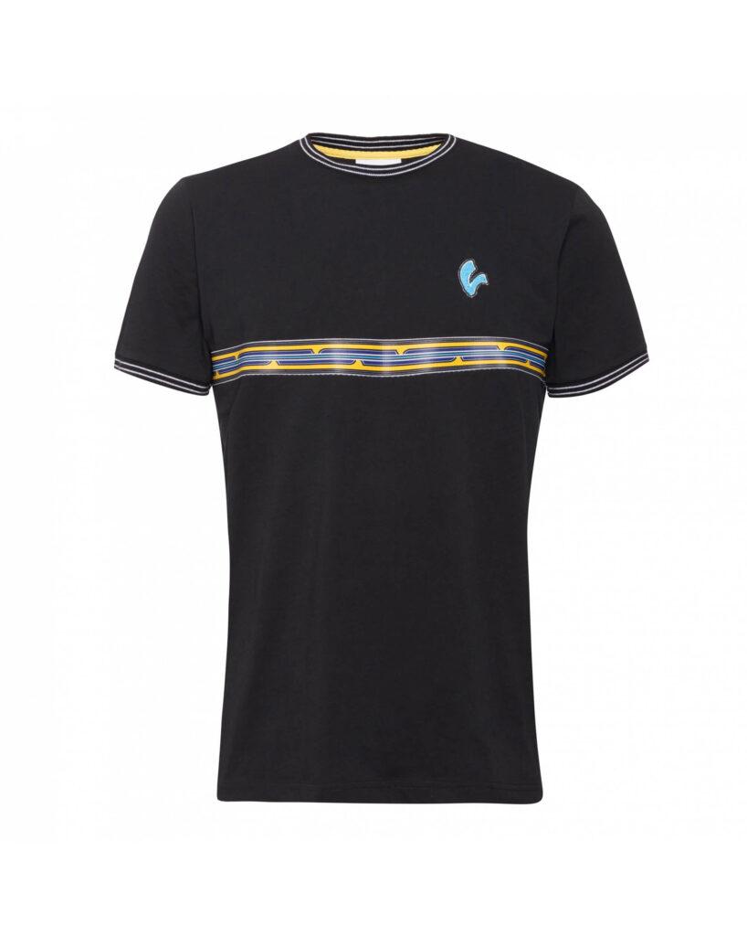 VESPA T-Shirt Męski V-Stripes Black