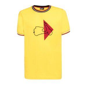 VESPA T-Shirt Męski Modernist Yellow