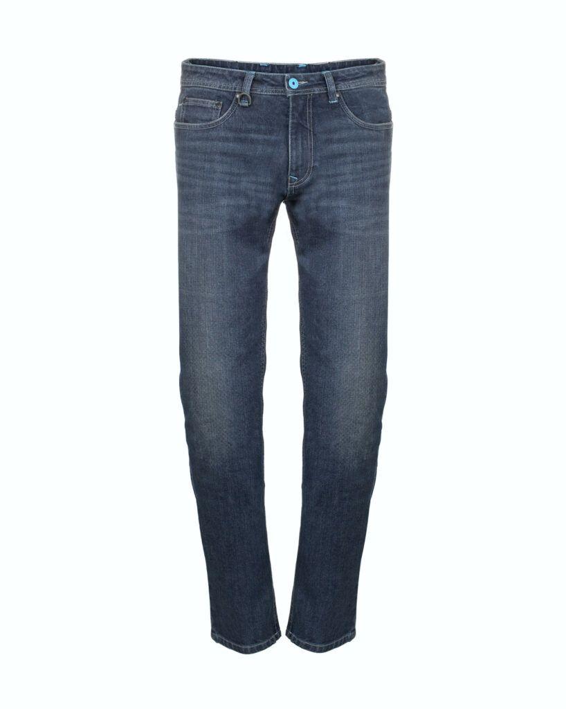 VESPA Spodnie Jeansowe Męskie Blue