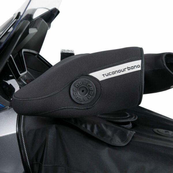 TUCANO URBANO Motomufki Z Neoprenu Z Cięzarkami R369 Pasują Do Wielu Modeli